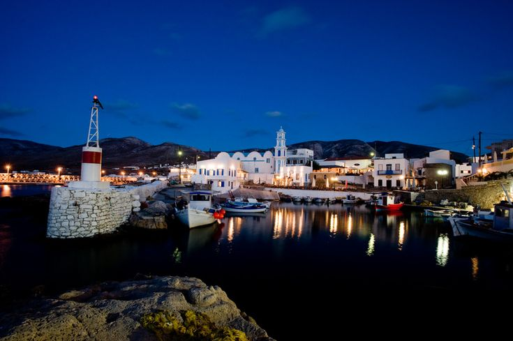 Kasos by night, Greece
