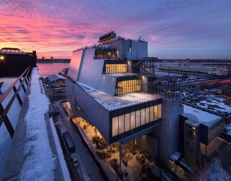 Whitney Museum's new digs, designed by the Italian architect Renzo Piano