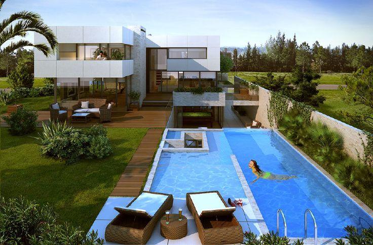 Mejores 12 im genes de patio ingl s patios en pinterest for Casa minimalista uy