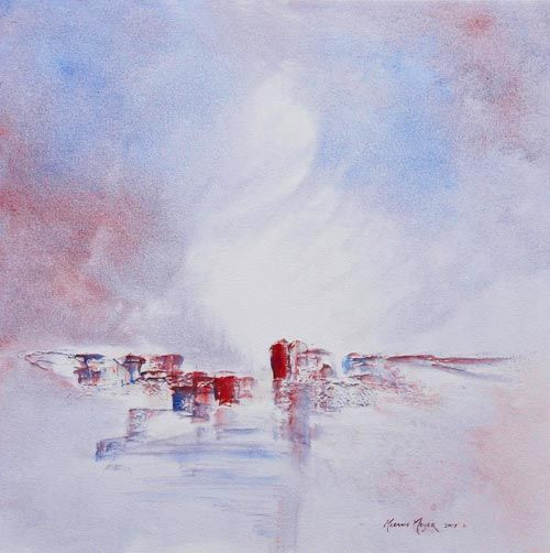 White Cliffs of Heaven 03 by Melanie Meyer , created in 2017