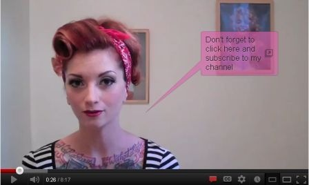 """Vintage Hair Tutorial pinup bandana updo """"Rosie the Riveter"""" by CHERRY DOLLFACE"""