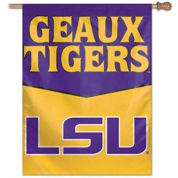 lsu football quotes  | http://thepurpleandgoldstore.com/lsu-geaux-tigers-vertical-flag-27x37 ...