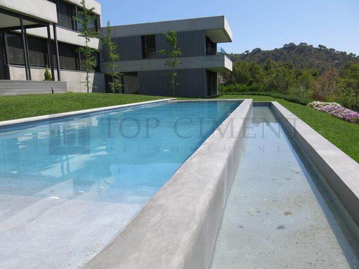 10 mejores im genes sobre piscinas de microcemento en - Microcemento piscinas ...