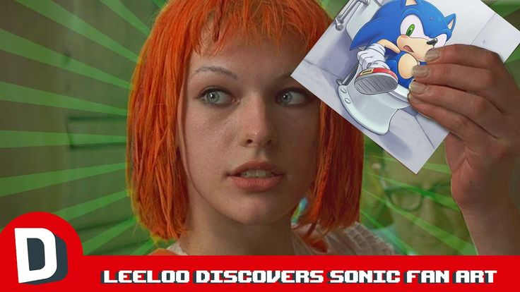 Leeloo Discovers Sonic Fan Art