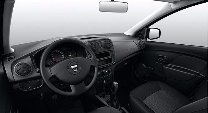 Dacia Sandero Ausstattung Essentiel Innenansicht