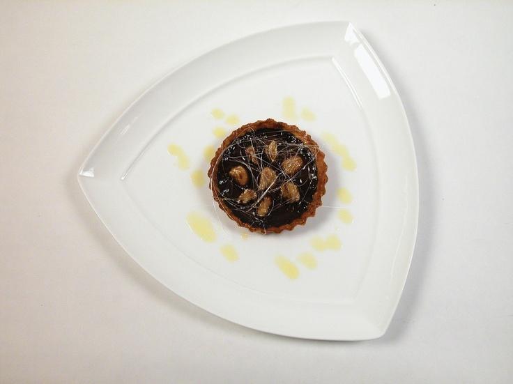 Crostata di cioccolato amaro e castagne Noberasco by Davide Palluda