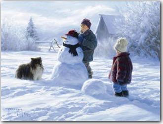 Winter Friends, Robert Duncan