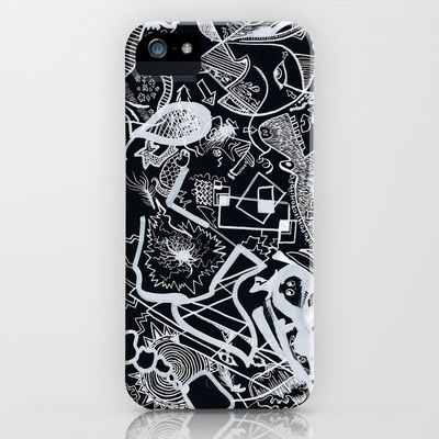 """In Black"" iPhone  iPod Case 