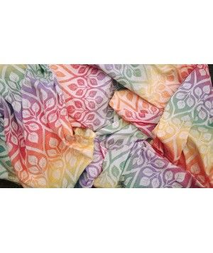 Yaro - La Vita Autumn Rainbow - chusta tkana do noszenia dzieci