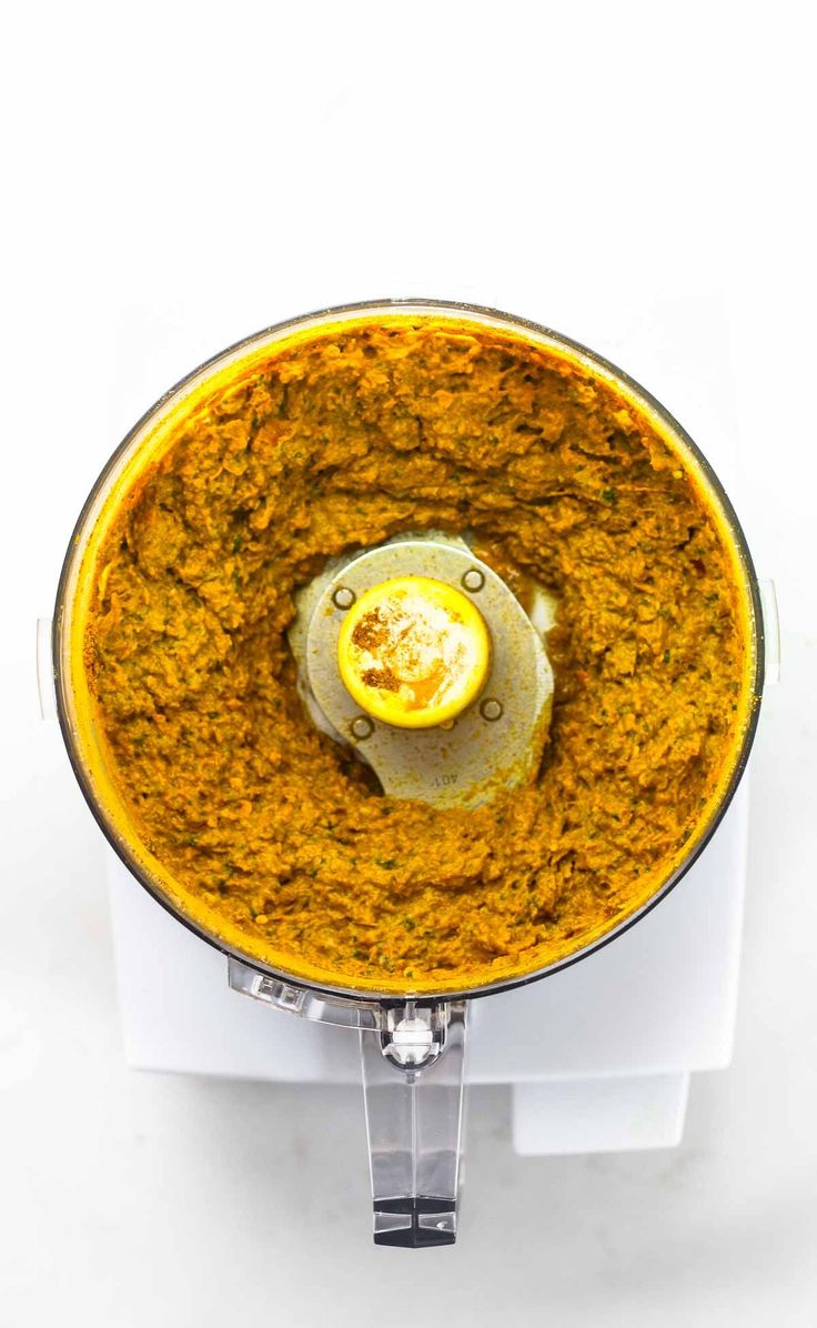 Easy Homemade Yellow Curry Paste - made with ingredients that can be found at almost any grocery store! This easy recipe takes 45 minutes and gives you enough curry paste for 4+ batches of curry, and it freezes perfectly! Vegan. | pinchofyum.com