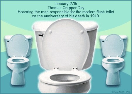 ecard 1 27 thomas crapper day thomas crapper january