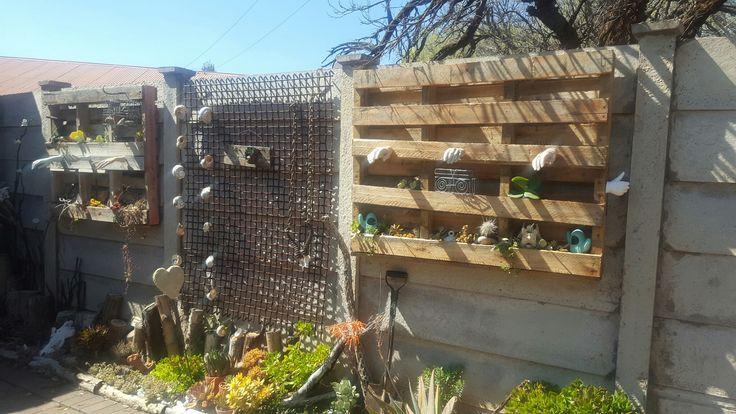 Hand. pallet.  My garden