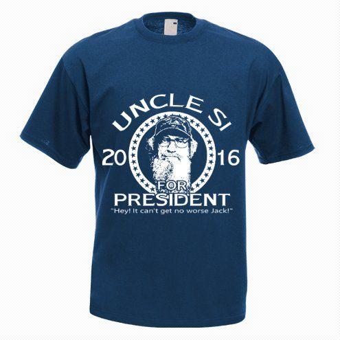 Uncle SI For President T-shirt - http://goo.gl/HcrPTR