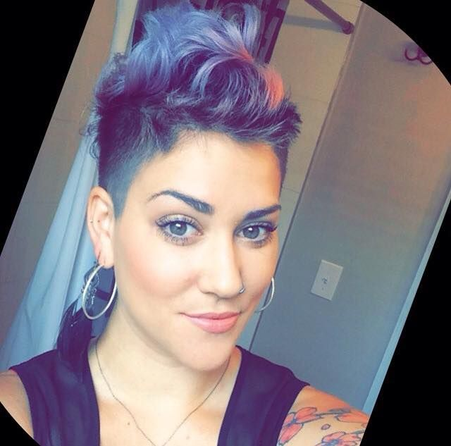 59 Best Faux Hawk Hairstyle Images On Pinterest: 16+hele+pittige+faux+hawk+haarstijlen+voor+dappere+dames