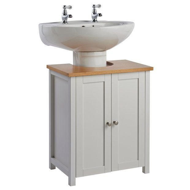 Buy Argos Home Livingston Under Sink - White | Bathroom ...