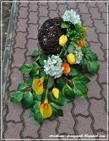 Sztuczne kwiaty też mogą być ładne ;)