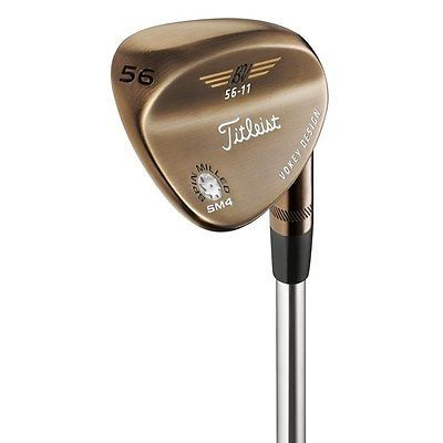 Titleist Golf Clubs Vokey Sm4 Oil Can 56 Sand Wedge Stl 56-14 Right Hand Value