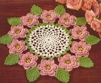 cottagerosedoilyFree Pattern, Crochet Rose, Doilies Pattern, Rose Doilies, Vintage Rose, Crochet Doilies, Crochet Pattern, Crafts, Cottagerosedoili Pattern