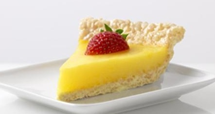 Marshmallow Crispy Lemon Pie ☼1 Tbsp. butter ☼1/4 c. dry JELLO ...