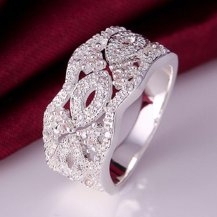 Gioielli in argento sterling 925 anelli dell'argento sterlina monili d'argento a buon mercato anelli R311