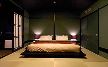 和室ダブルベッド(6000円/部屋)