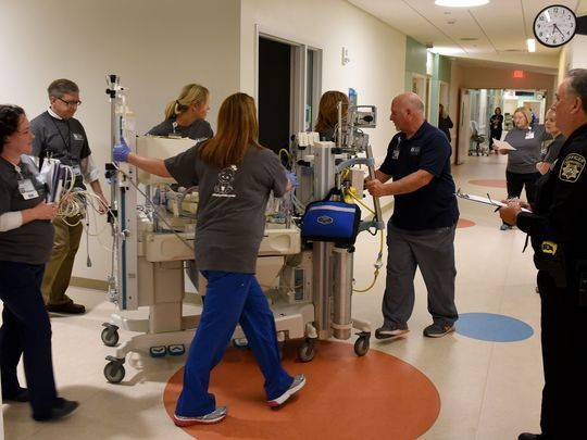 East Tennessee Children's Hospital moved 27 babies