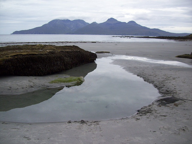 The Singing Sands beach on Eigg   Flickr - Photo Sharing!