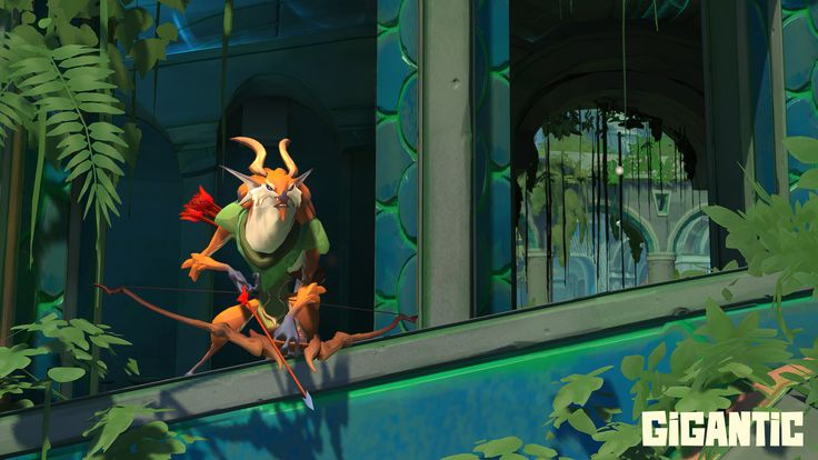 When the forest-lord Voden goes on a hunt in Gigantic, he makes his enemies prey.