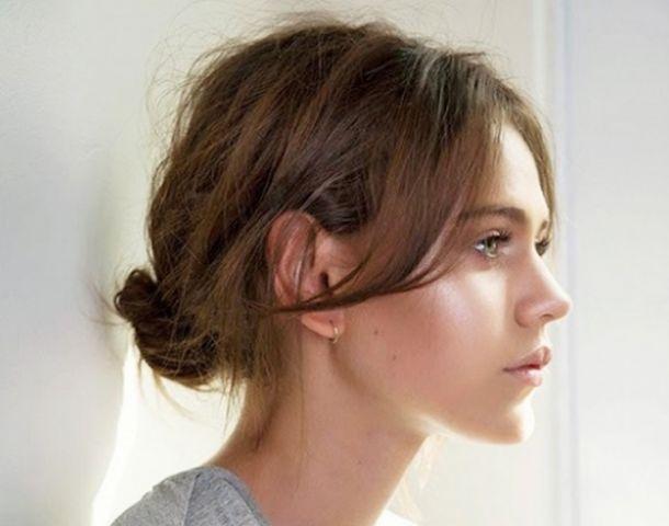 4 knotjes voor semi-kort haar