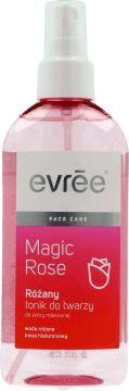 Evree, Magic Rose, różany tonik do twarzy, do skóry mieszanej, 200 ml, nr kat. 228071