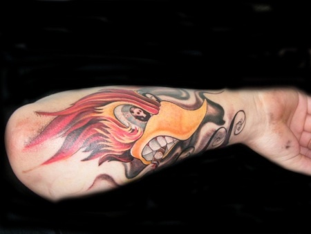9 best images about peckerwood on pinterest around the for Hot rod tattoos