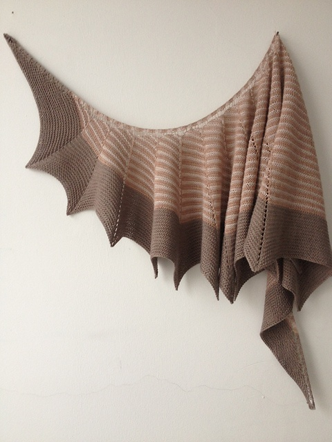 Ravelry: butterfly67s nude look stretch.  Stephen West