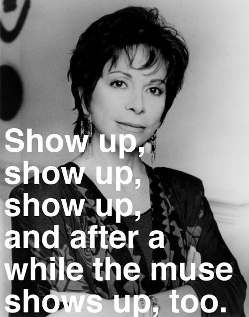 One of the best quotes on writing I've come across. Doesn't hurt that they come from a Master at her craft either