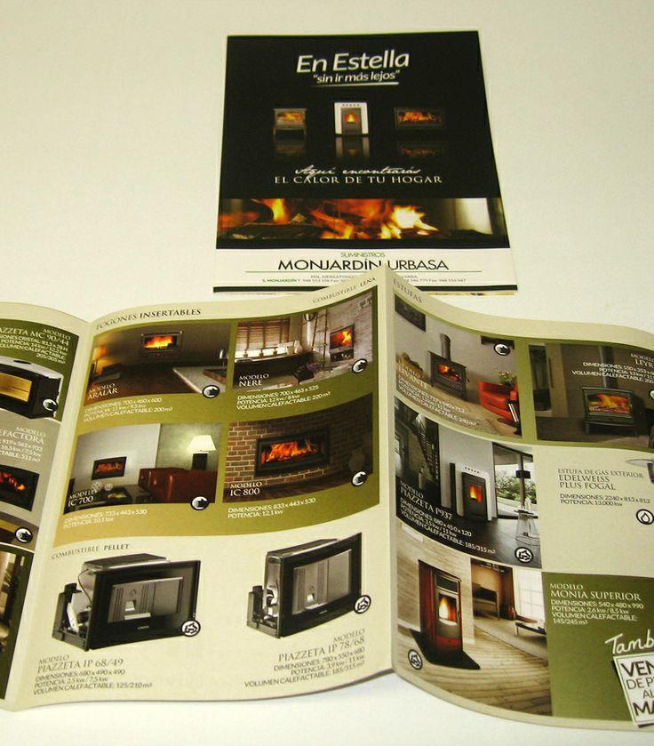 Catálogo de productos para Suministros Monjardín - Calle Mayor Comunicación y Publicidad