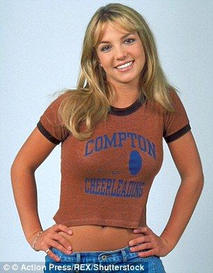 Britney flashed her abs the first time 90s fashion was in style...