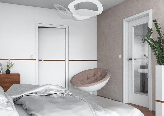 Designové interiérové dveře Sapeli - LINUM dveře do ložnice