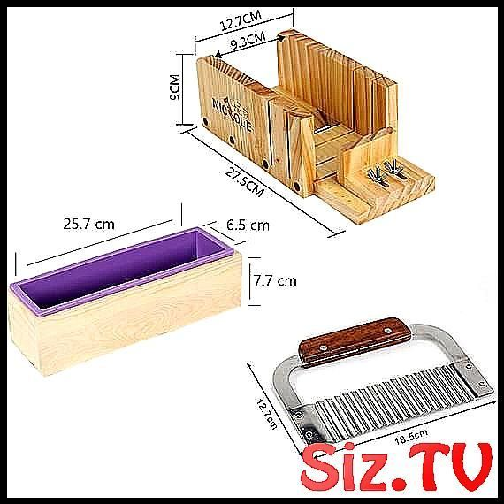 Silicone Soap Mold Set 3 PCS Craft Homemade Soaps Making Tool Mould
