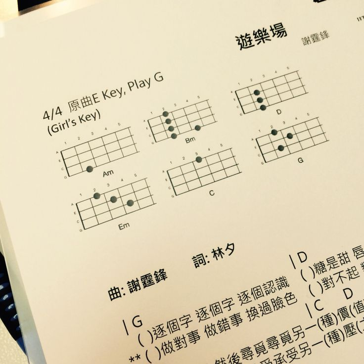 Unique Obviously Mcfly Ukulele Chords Pattern Song Chords Images