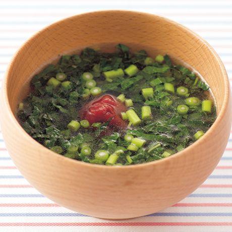 モロヘイヤのお吸いもの | 伊藤朗子さんのお吸いものの料理レシピ | プロの簡単料理レシピはレタスクラブネット