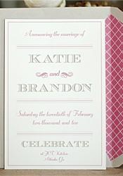 invite + envelope liner