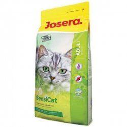 Aus der Kategorie Trockenfutter  gibt es, zum Preis von EUR 13,61  <br> <b>Versand aus Deutschland.</b> <br> Josera SensiCat <br> #NAME? <br> <br> Ihre Katze ist wählerisch und hat einen empfindlichen Magen? <br> Ausgewählte, leicht verdauliche Rohwaren gewähren beste Verträglichkeit und sind somit speziell für ernährungssensible Katzen geeignet. <br> <br> #NAME? <br> #NAME? <br> - Ein pH-Wert im Urin von 6,0 - 6,5 wird gefördert und kann der Harnsteinbildung entgegenwirken <br> #NAME? <br…