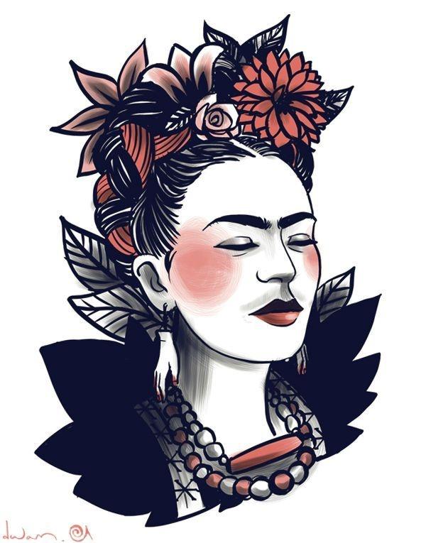 Frida by Dwam                                                                                                                                                     Plus