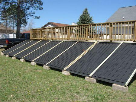 Solar home heating ideas