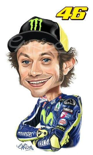 """Valentino Rossi : Tay đua mô tô chuyên nghiệp người Ý Đại Lợi, với biệt danh là """" The Doctor"""""""