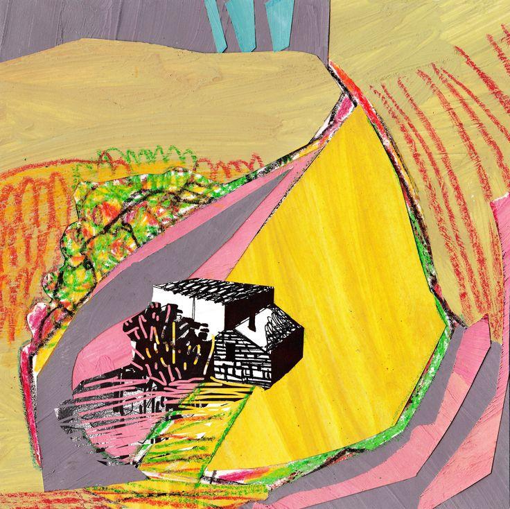 """Collage Landscape #4"" Author: Alina Shagidullina (a creator and owner of HOUZY) @_houzy"