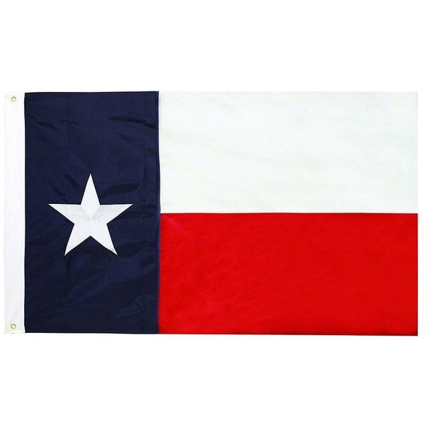 Celebrate Americana Together Large Texas Flag Wall Decor (€8,59) ❤ liked on Polyvore featuring home, home decor, wall art, white, white wall art, white home decor and americana home decor