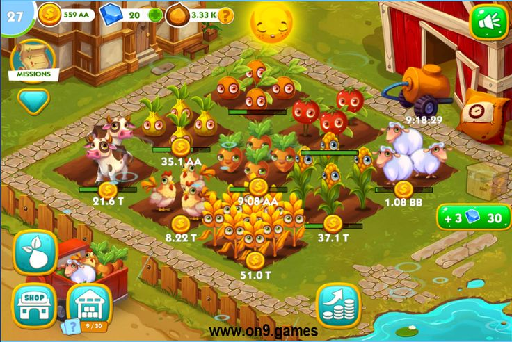 Play Little Farm Clicker game now!  ️️ #freeonlinegames #onlinegames
