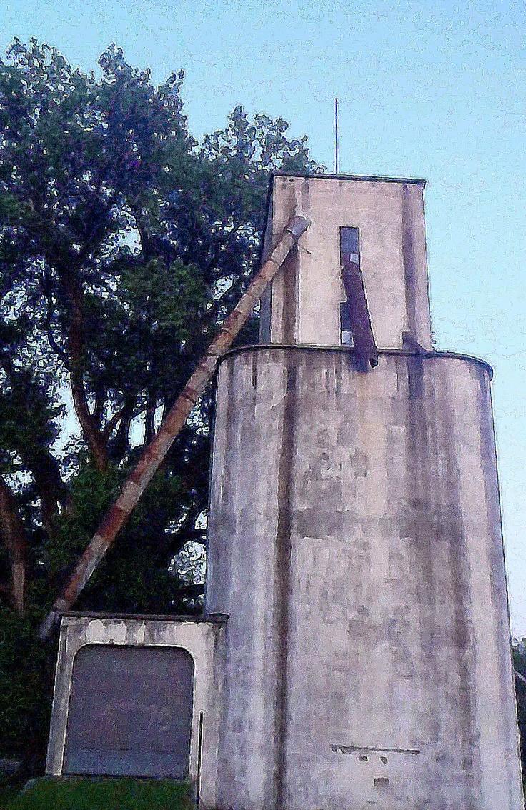 Grain Elevator Silo St George Kansas