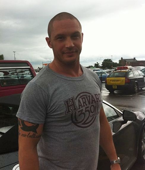Oh my, he is such a nice guy!! | Tom Hardy