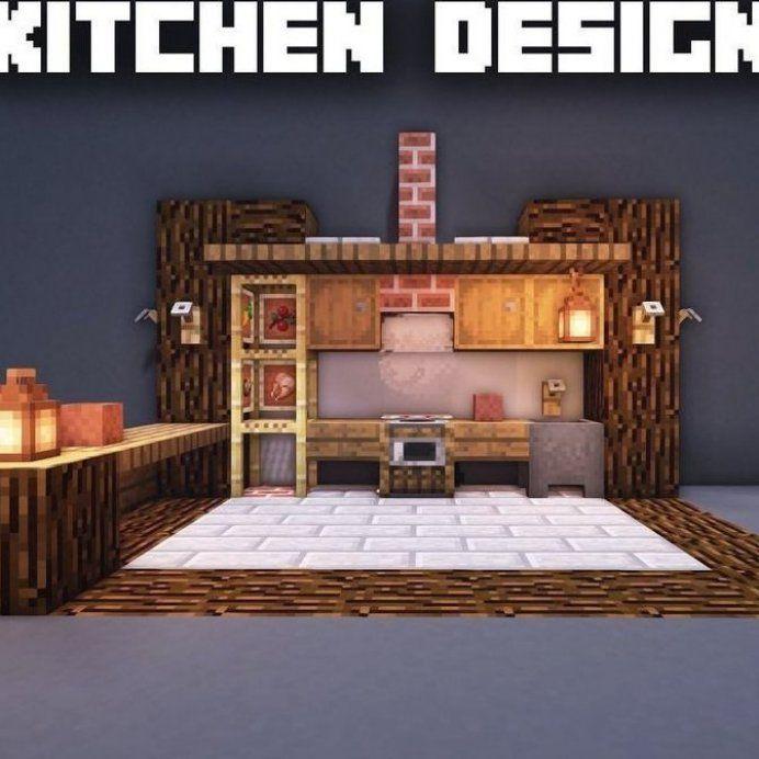 Modern House Modern Minecraft Kitchen Ideas